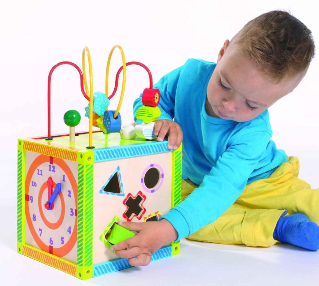 giocattoli per bambini in legno