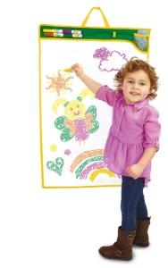 il tappetone magico per disegnare e colorare