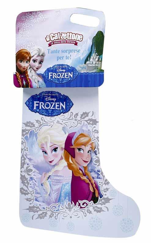 Calze befana di frozen il regno di ghiaccio