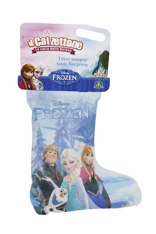 Calze befana di frozen il regno ghiaccio giocattoli