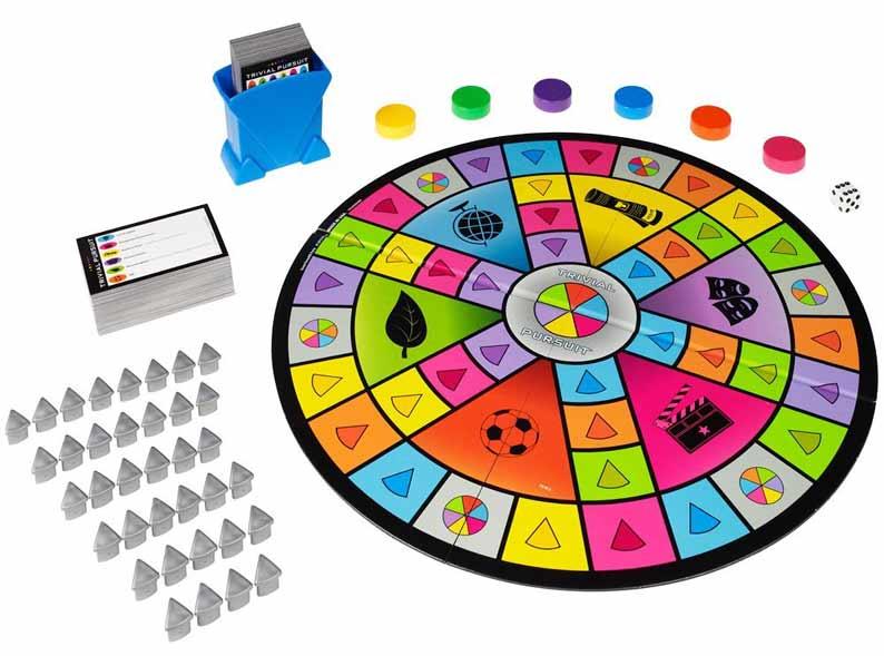 Trivial pursuit: giochi da tavolo