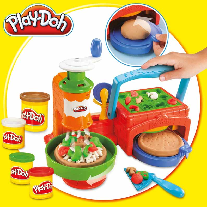 Giochi di pizza playdoh creativi