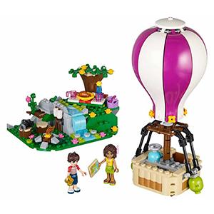 Lego costruzioni la mongolfiera