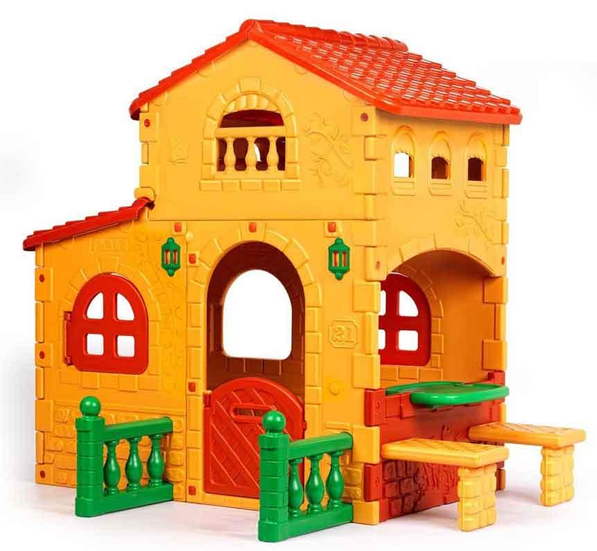 Casette per bambini da esterno giocattoli per bambini for Grande casetta per bambini
