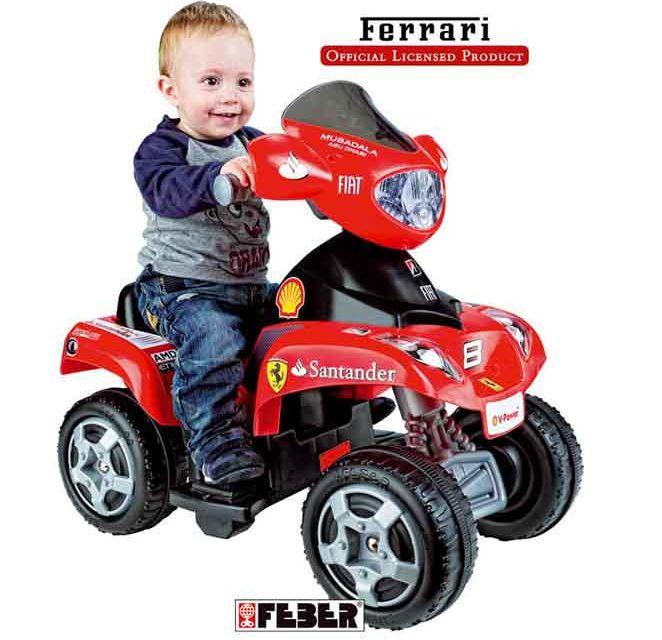 Mini quad per bambini: modelli da favola