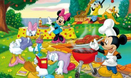 Puzzle disney: il barbecue di topolino