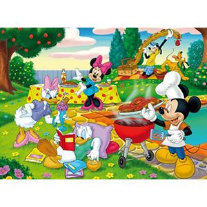 Puzzle disney il barbecue di topolino