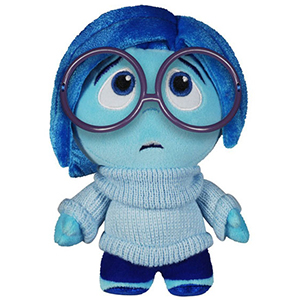Peluche per bambini inside out