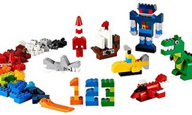 Costruzioni lego: classici mattoncini