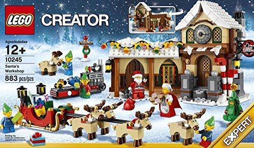 Lego di babbo natale: la bottega