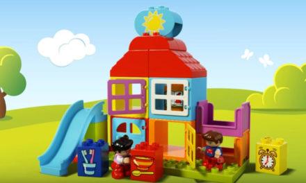 Costruzioni lego duplo: prima casetta