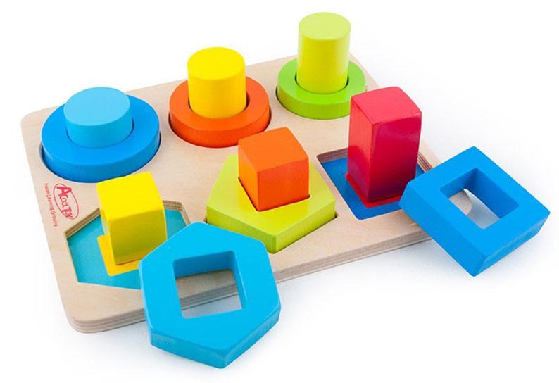 Puzzle in legno per bambini piccoli