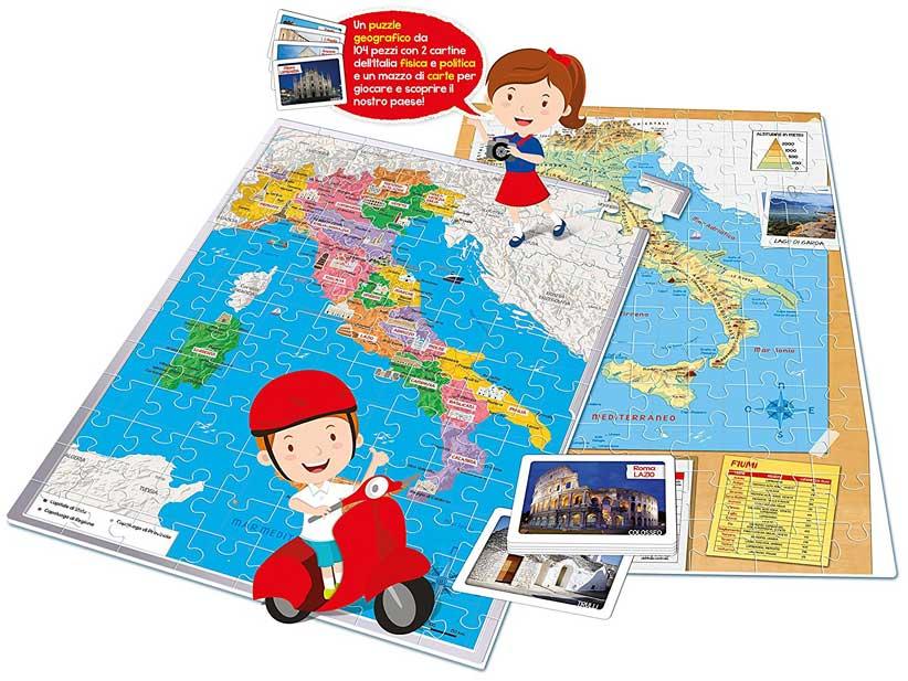 puzzle istruttivi per bambini