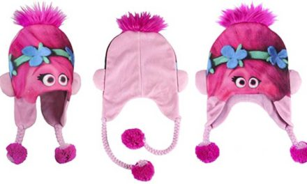 Cappelli di lana per bambini allegri e colorati