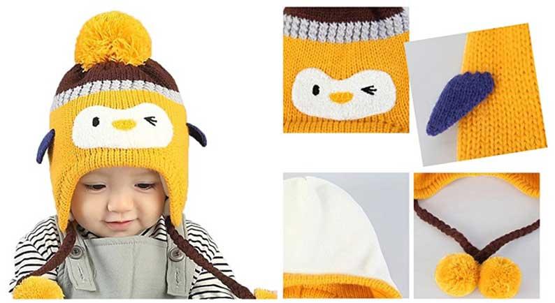 Un secondo esempio di ottimi cappelli di lana per bambini riguarda il  modello di berretto a cuffietta chiamato Jersey Superstar 3c3877515146