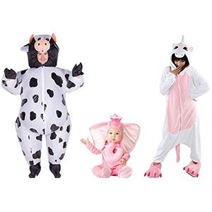 Vestiti di carnevale per bambini e adulti