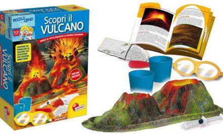 Giochi in scatola per bambini: scopri il vulcano