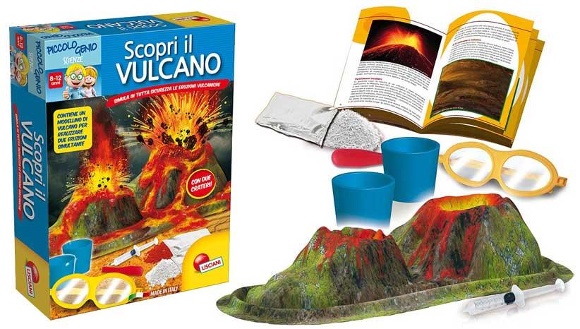 Favori Giochi in scatola per bambini: scopri il vulcano – Giocattoli per  CV64