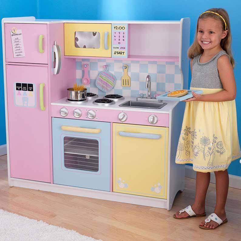 Cucine kidkraft per bambini giocattoli per bambini - Mini cucina per bambini ...