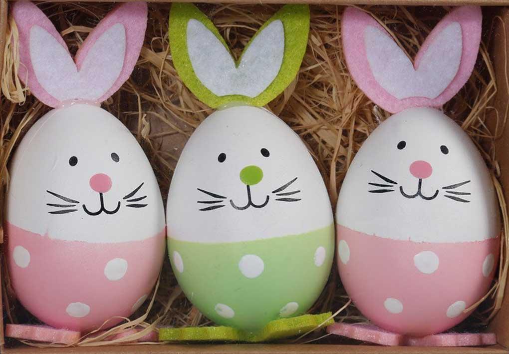 Dab regalo divertente cartone animato coniglietto per pasqua