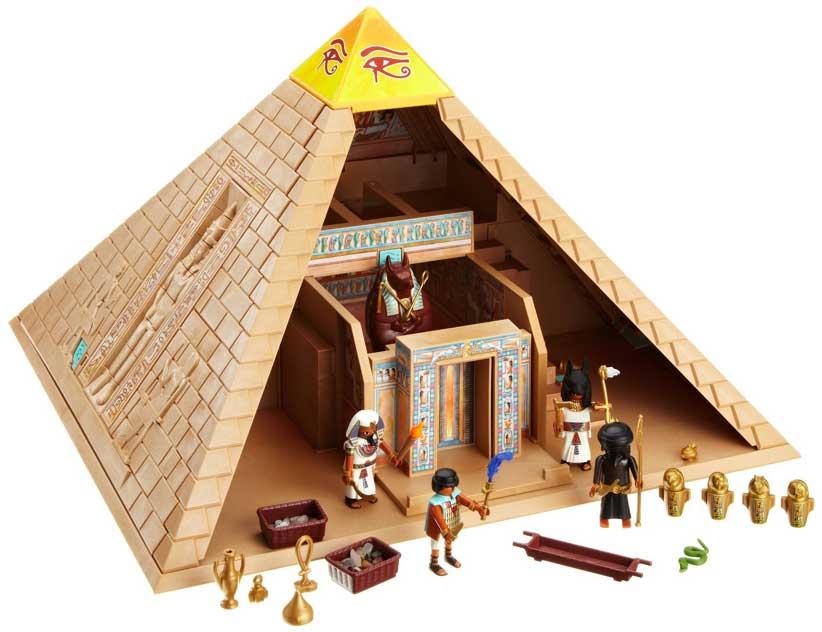 Playmobil piramide del faraone giocattoli per bambini - Egypte playmobil ...