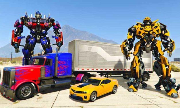 Transformers giocattoli per bambini