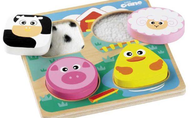 Giocattoli per bambini ciechi