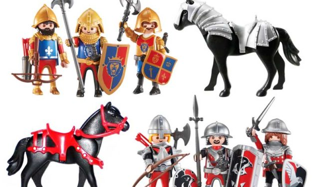 Playmobil knights cavalieri armati