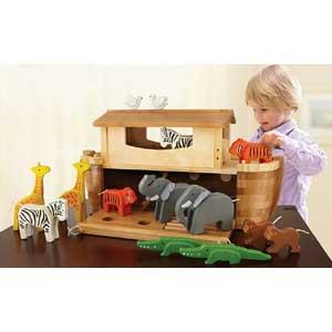 Giocattoli ecologici per bambini