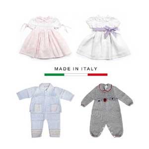 Abbigliamento prima infanzia