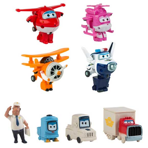Robot trains giocattoli trasformabili per bambini