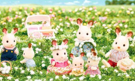 Sylvanian families ricci conigli e scoiattoli bebè da collezione