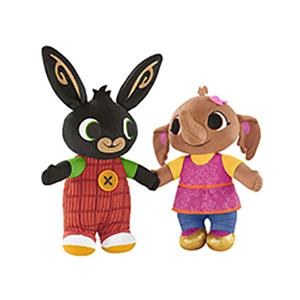 Peluche bing morbido coniglio da coccolare per bambini